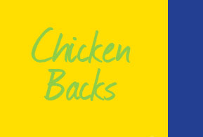 Chicken Upper Backs and Chicken Lower Backs